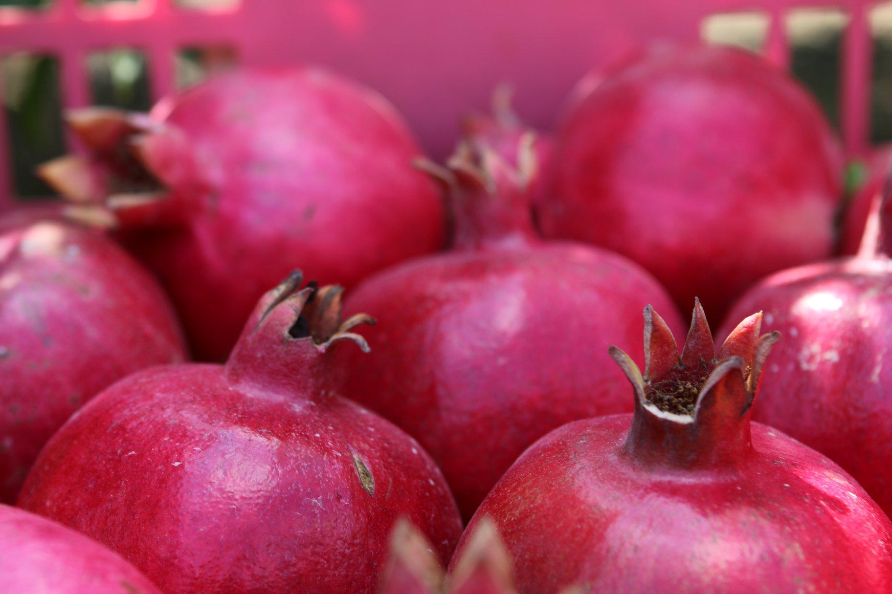 A gránátalma a szerelem, termékenység és bőség gyümölcse.