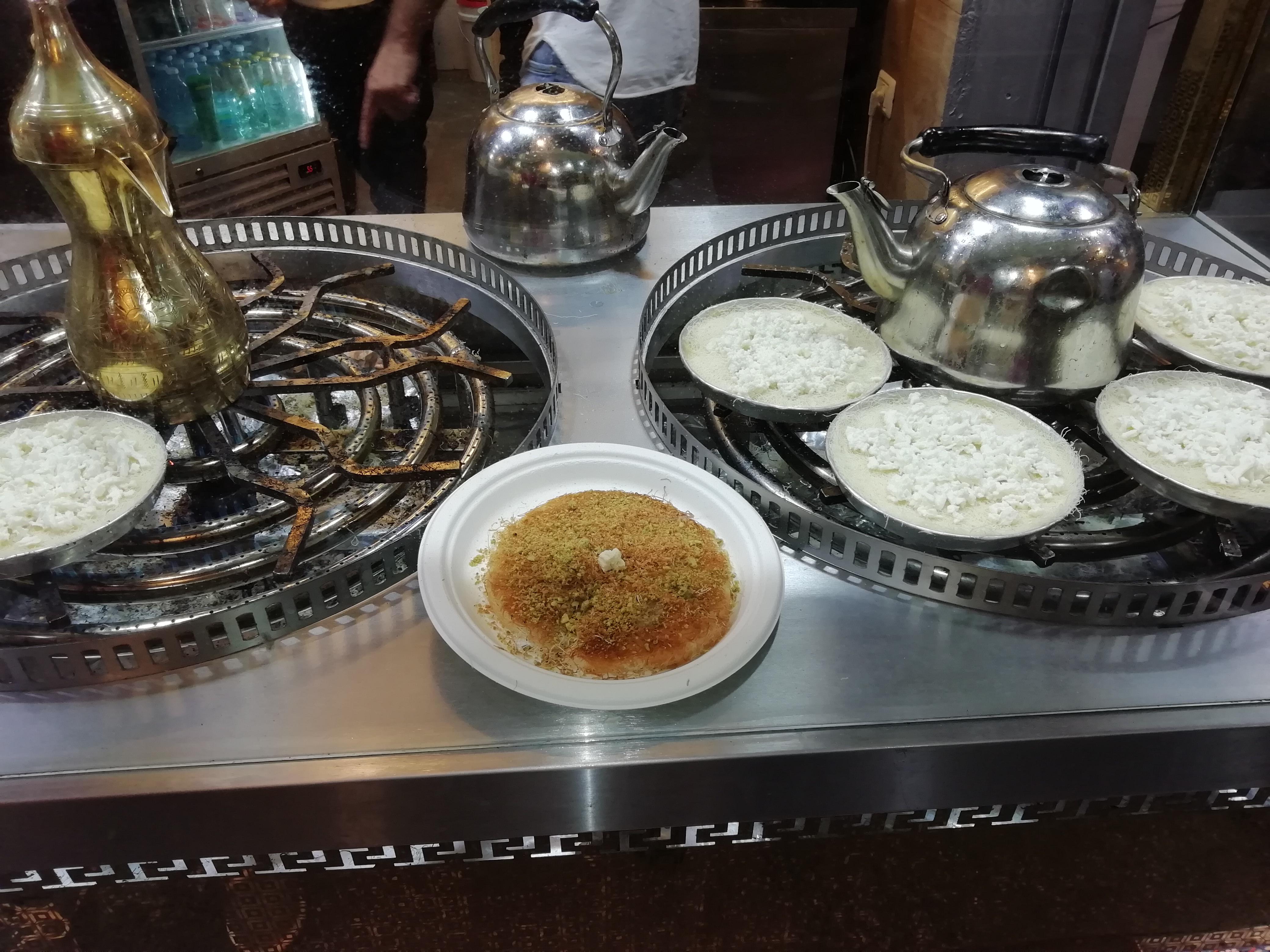 A Közel-Kelet desszertje - Kanafeh